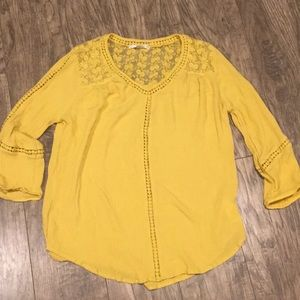John Paul Richard bohemian style blouse
